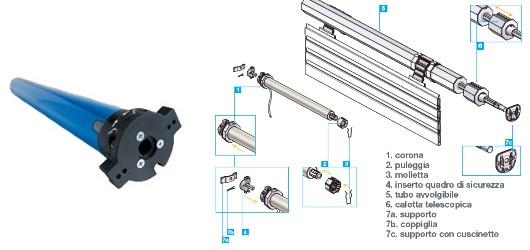Casa immobiliare accessori motori serrande elettriche for Tapparelle per lucernari prezzi